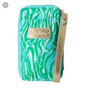 New! Lilly Pulitzer wristlet phone case